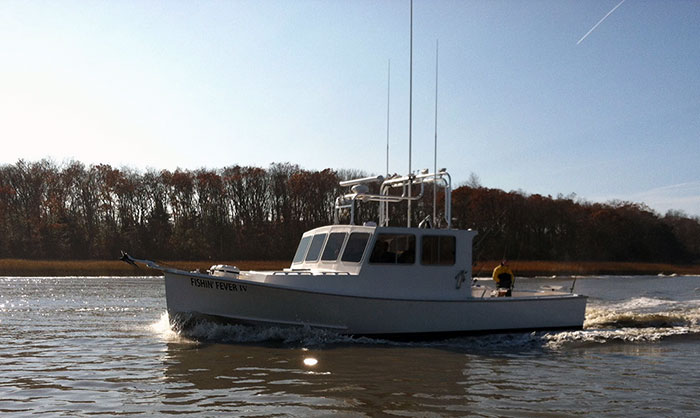 Utsch 39 s marina cape may new jersey charter and party boats for Cape may fishing charters